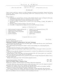 Financial Management Specialist Resume Resume Workforce Management Resume