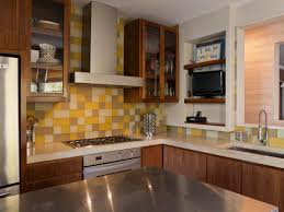 Kitchen With Brown Cabinets Staining Kitchen Cabinets Pictures Ideas U0026 Tips From Hgtv Hgtv