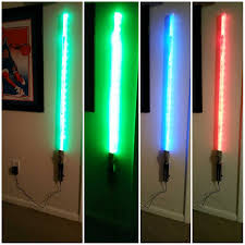 Lightsaber Bedroom Light Lightsaber Bedroom Light Home Inspirations Picture Saber Wall
