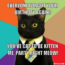 Happy Kitten Meme - birthday cat meme generator 28 images ha pizza birthday pizza