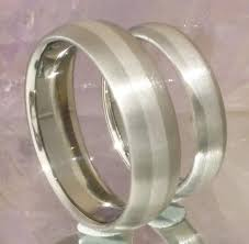 titanium wedding band matching titanium platinum wedding band set stp3 titanium