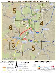 Gallup New Mexico Map by Multi Year Maps Gps Traffic Research Unit The University Of