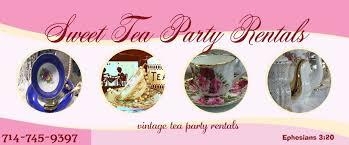 oc party rentals tea party rental tea party rentals la oc costa mesa ca