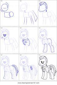 draw davenport pony friendship magic