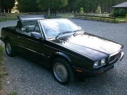 classic maserati convertible 1989 maserati bi turbo spyder