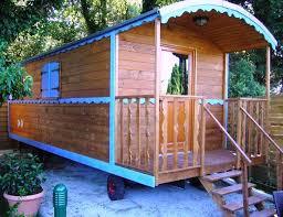 roulotte 2 chambres une roulotte en bois hôtelière pour vos séminaires pouvant