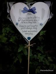 memorial mothers day special grave ornament personalised