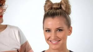 sock bun hair how to make a sock bun howcast the best how to on the web