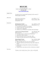 Best Resume Format For Logistics by Food Service Worker Resume Sample Free Resume Example And