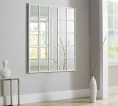 White Mirror Mirror Window Pane Mirror Window Mirror