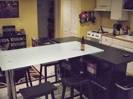 modern kitchen t kitchen island dining table ikea hackers