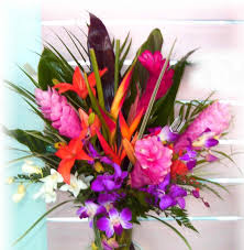 tropical flower arrangements tropical wedding flowers