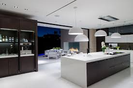 modern house kitchen laurel way whipple russell architects