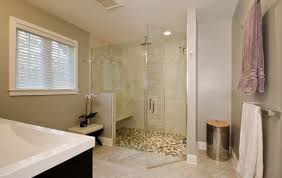 river rock pebbles for your shower merrick design and build