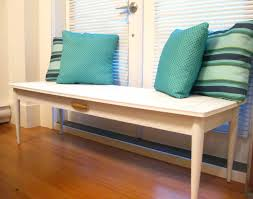 life designed turn a coffee table into a bench