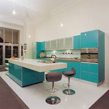 Vintage Kitchen Ideas by Vintage Kitchen Design Beige Lacquer Finish Kitchen Cabinet Round