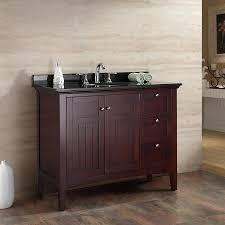 shop ove decors gavin tobacco undermount single sink bathroom