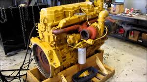 new caterpillar c12 engine running youtube