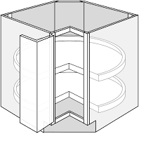 how big is a corner base cabinet ls33 essex white base cabinet 33 lazy susan bi fold doors