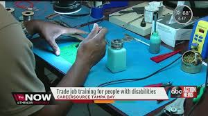 under the table jobs for disabled grant helping train disabled for in demand jobs abcactionnews com