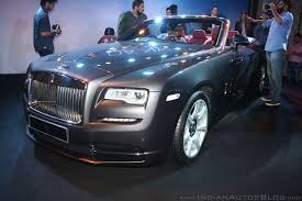 rolls royce front rolls royce dawn launched in india at inr 6 25 crores