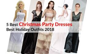 5 Best Christmas Party Dresses Best Holiday Outfits 2018