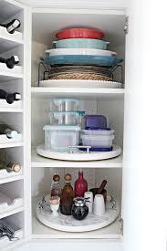 how to organise kitchen corner cupboard iheart organizing organized kitchen corner cabinet with a
