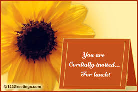 lunch invitation cards you are cordially invited for lunch free business formal ecards