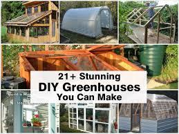 21 stunning diy greenhouses you can make
