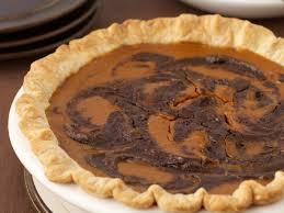 Chess Styles Chocolate Swirled Pumpkin Pie Recipe Grace Parisi Food U0026 Wine