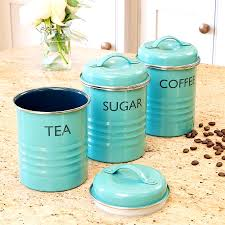 blue canisters blue kitchen canisters jars you ll love wayfair