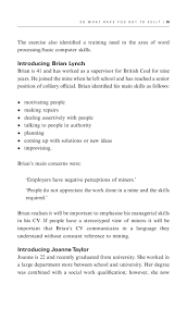 Word Processing Skills For Resume How To Write A Cv