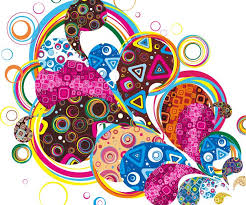 colorful designer colorful design abstract vector graphic free vector graphics all