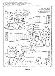 winter worksheet for kids crafts and worksheets for preschool