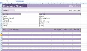 Microsoft Excel Receipt Template Microsoft Excel Billing Invoice Template Xls Project Management