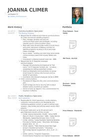 international relations specialist resume communications specialist resume samples visualcv resume samples