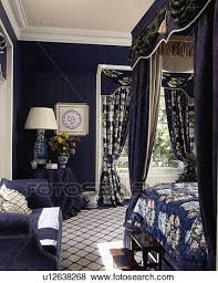 Curtains For Dark Blue Walls Pictures Of Blue White Checked Carpet In Dark Blue Bedroom With