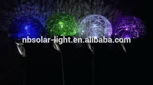 multi colored solar garden lights multi colored solar led garden lights glass ball stake solar colored