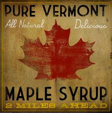 Vermont Maple Syrup Rustic