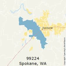 spokane zip code map best places to live in spokane zip 99224 washington