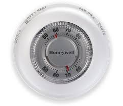 classic round non programmable thermostat honeywell