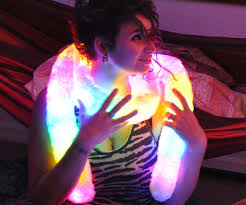light up scarf