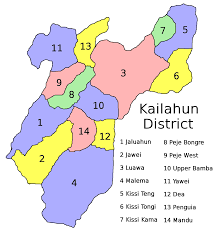 Map Of Sierra Leone File Sierra Leone Kailahun District Chiefdoms Png Wikimedia Commons