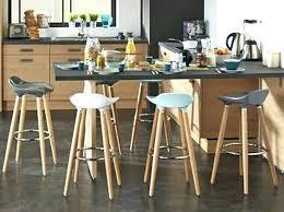 cuisine originale en bois hypnotisant table bar design chaise de originale cuisine bois noir