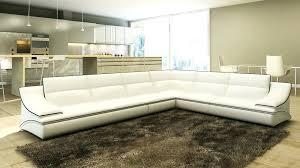 canapé d angle blanc cuir canape d angle blanc cuir deco in canape d angle cuir design