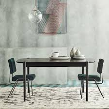 Ellipse Expandable Dining Table West Elm - West elm emmerson industrial expandable dining table