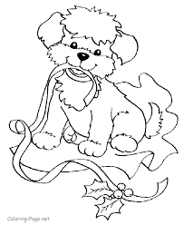 christmas colouring pages kids coloring