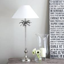 Bird And Branch Table Lamp by Table Lamps Christmas Tree Table Lamp Palm Tree Nickel Table