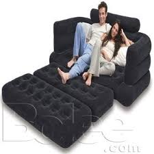 Inflatable Pull Out Sofa by Intex Inflatable Pull Out Sofa Queen Size Airbed Mattress Rs 7499