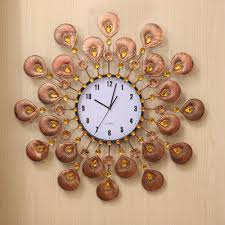 amazing room decor with adorable wall clock decoration design